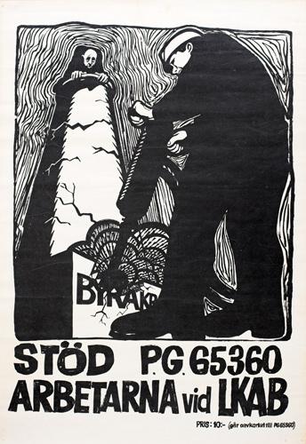 Konst till stod for gruvstrejken